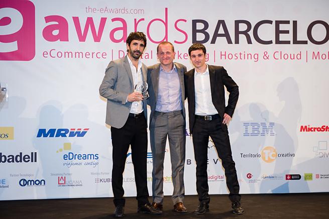 Ganadores de los eAwards BCN 2013