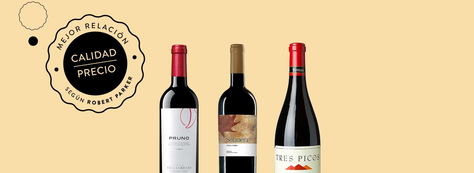 Tres vinos espa oles tienen la mejor relaci n calidad for Mejor pintura interior calidad precio