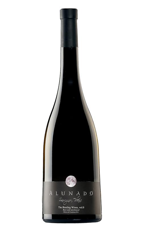 Botella de vino alunado saouvignon blanc 2014