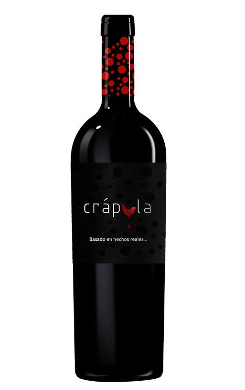 Imagen de la botella de vino Crápula 2012