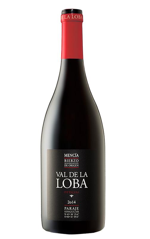 Botella de vino Pittacum val la loba 2014