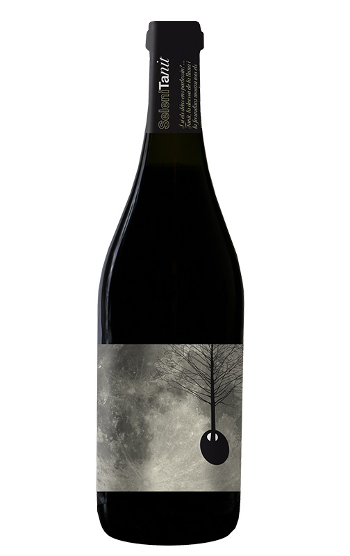 Botella de vino Selenita Nit 2010