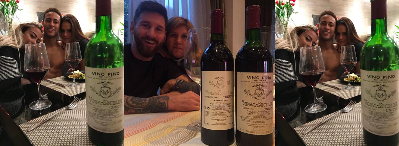 Los secretos del vino que beben Messi y Neymar