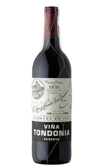 77º. Viña Tondonia Reserva 2004