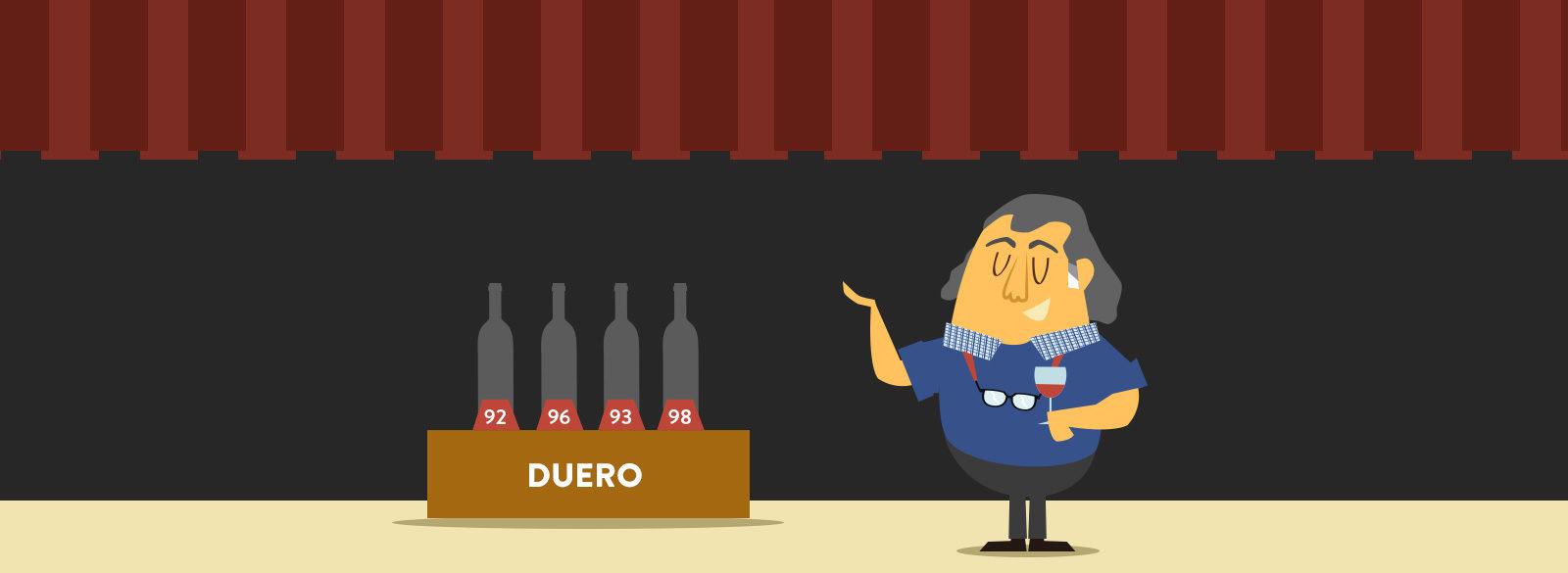 Luis Gutiérrez otorga puntos Parker a los mejores vinos del Duero