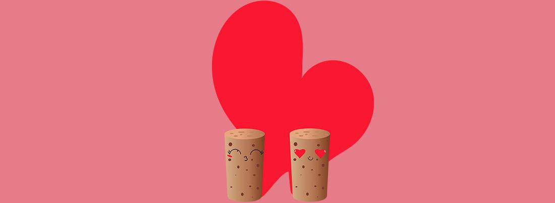 Los vinos más románticos para San Valentín
