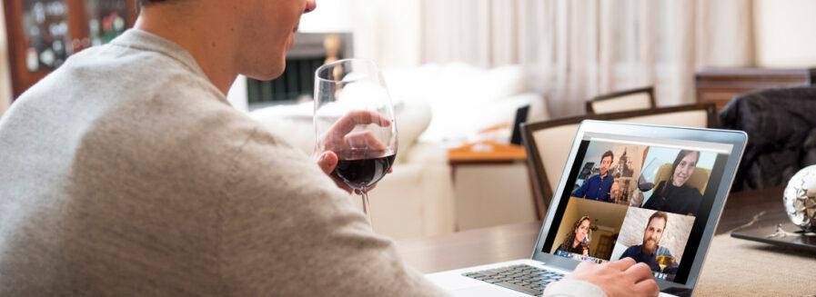 Vinollamadas: la nueva tendencia social que triunfa durante el confinamiento
