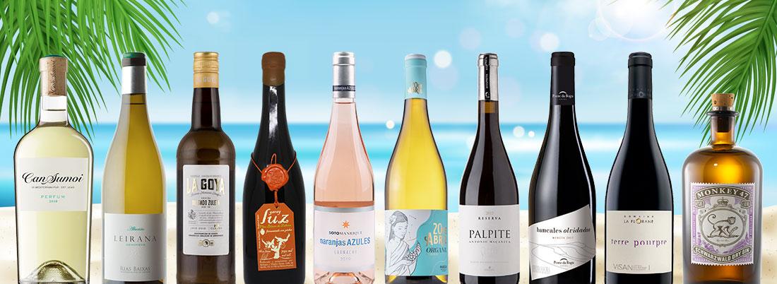 9 vinos (y un destilado) para llevarse de vacaciones