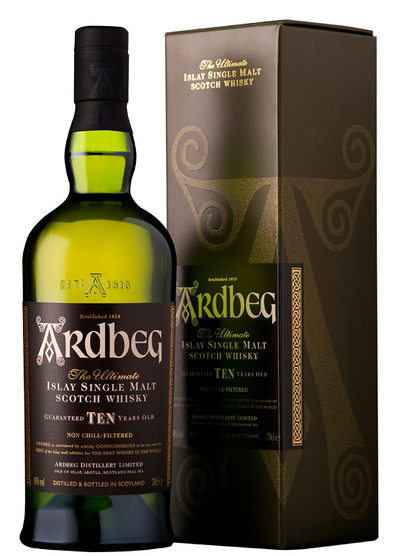 Ardbeg 10 Year Old con estuche