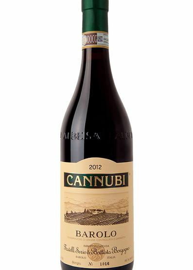 Barolo Cannubi DOCG Reserva 2012