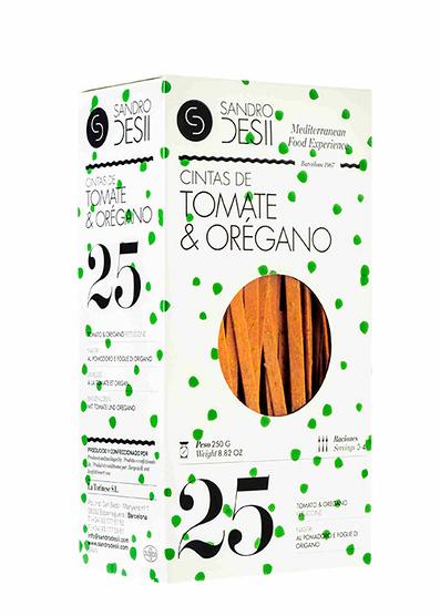 Cintas de Tomate y Orégano 250 g
