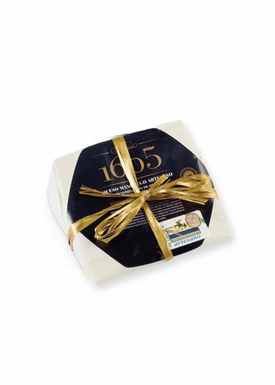 Queso manchego artesano curado 1605 (250 g. aprox)