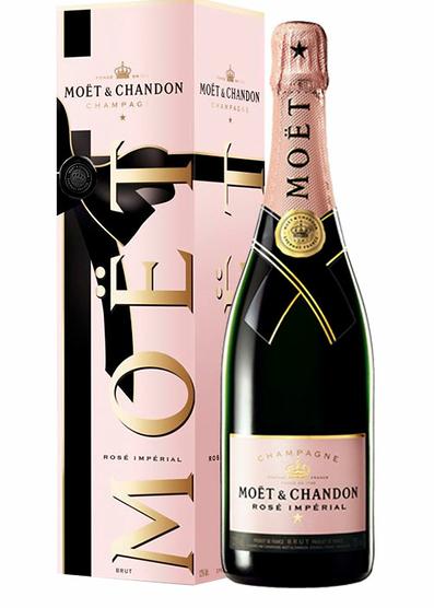 Moët & Chandon Brut Impérial Rosé Edición San Valentín con estuche