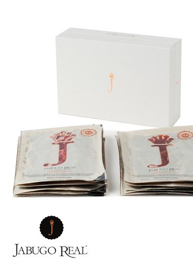Pack 10 sobres de Jamón 100% Ibérico de Bellota Jabugo Real