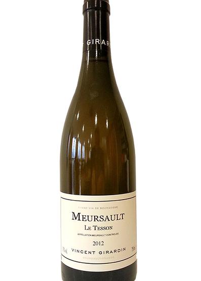 Meursault Les Tessons 2012