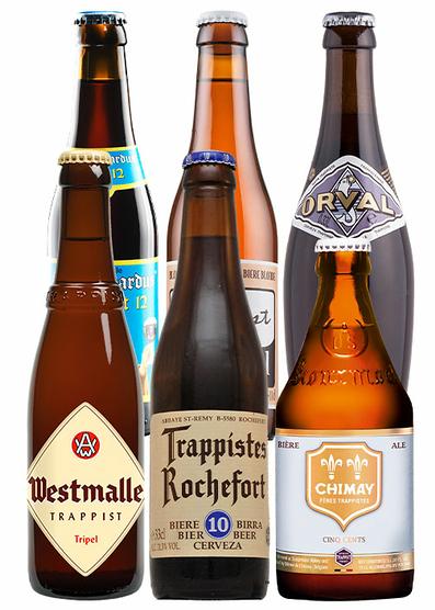 Pack cervezas belgas trapenses