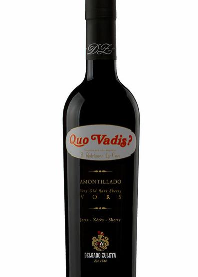 Quo Vadis VORS Amontillado 50 cl.