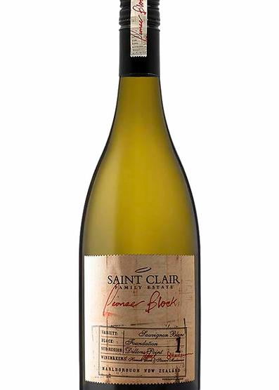 Saint Clair Pioneer Block 1 Sauvignon Blanc 2018