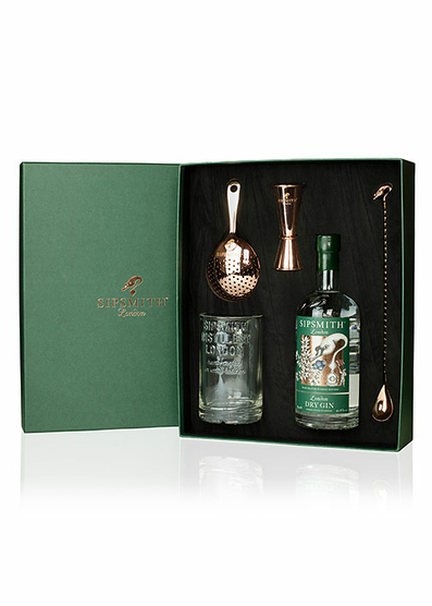 Pack Cocktail Pro Sipsmith Dry Gin