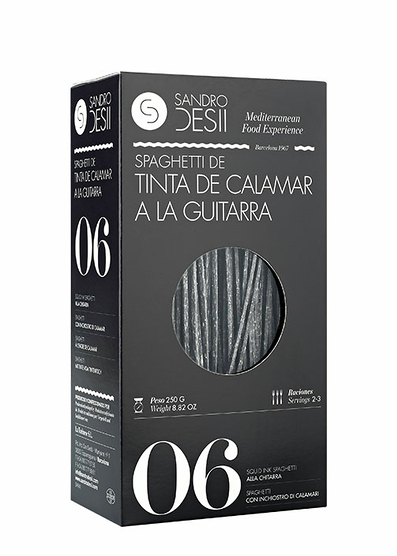 Spaghetti de Tinta de Calamar a la Guitarra 250 g