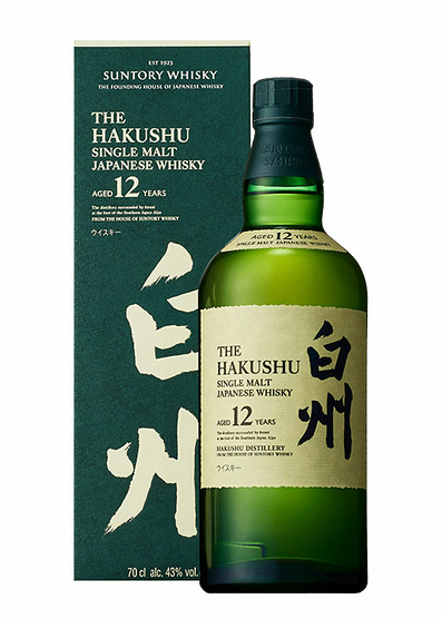 Hakushu 12 Years Old con estuche