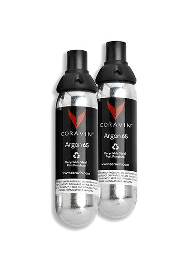 Cápsulas de argón para Coravin (x2)