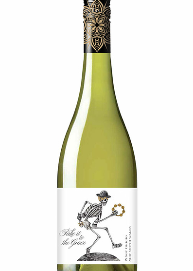 Take it to the grave Tumbarumba Pinot Grigio 2018
