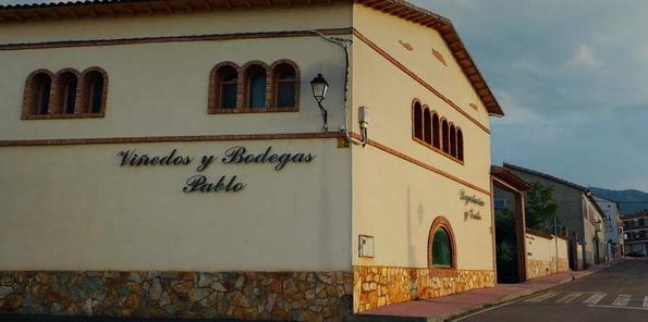 Imagen del edificio de la bodega.