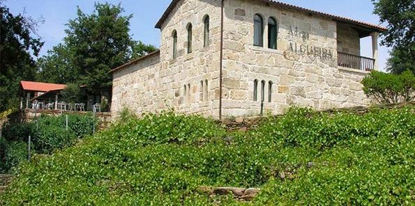 Edificio románico de bodega