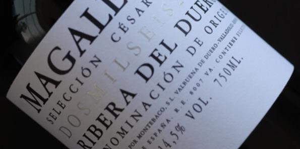 Botella del Magallanes
