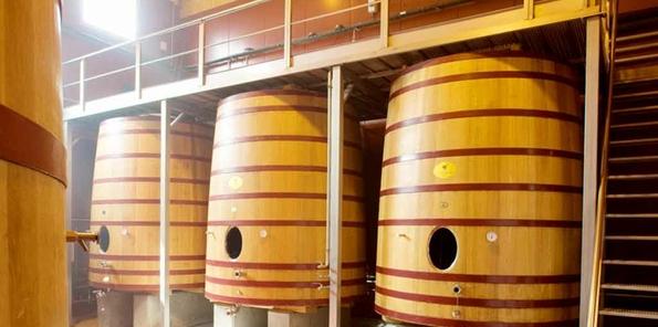 Tinas de fermentación