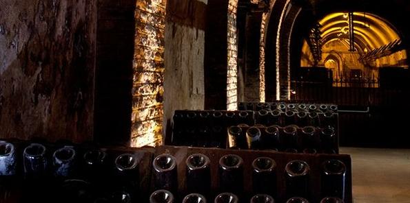La bodega Pommery alberga 18 km. de galerías subterráneas.