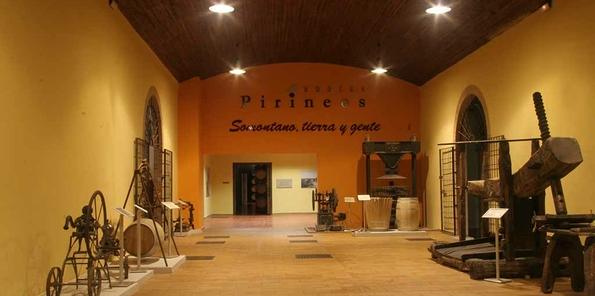 Museo del vino, en el Somontano