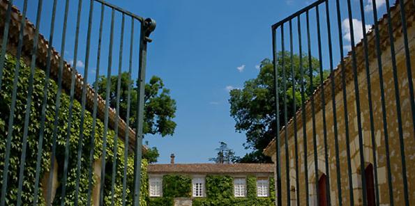 Entrada al château