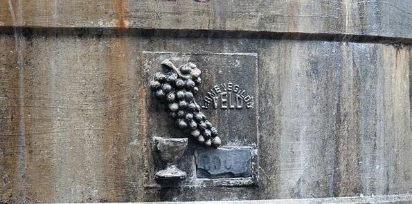 Detalle de depósito antiguo