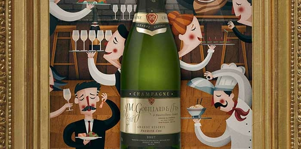 Champagne JM Gobillard