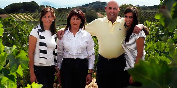 Los Rodero en el viñedo