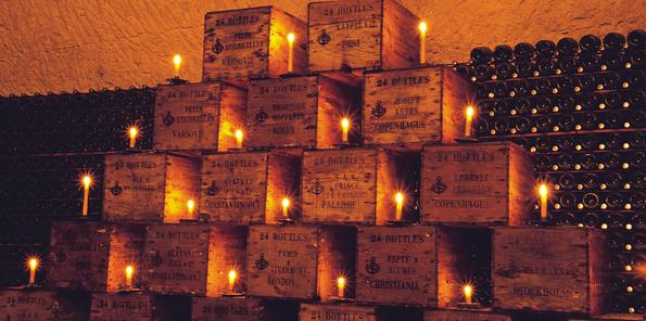 Cajas de Veuve Clicquot