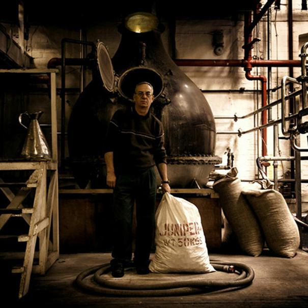 Rob, maestro destilador de Martin Miller's
