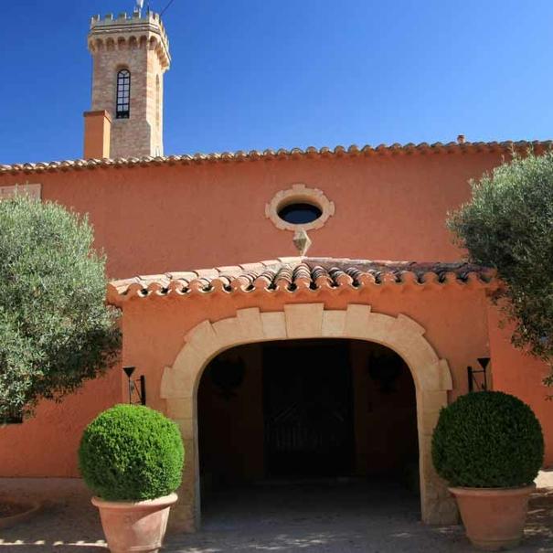 Imagen del edificio de la quesería