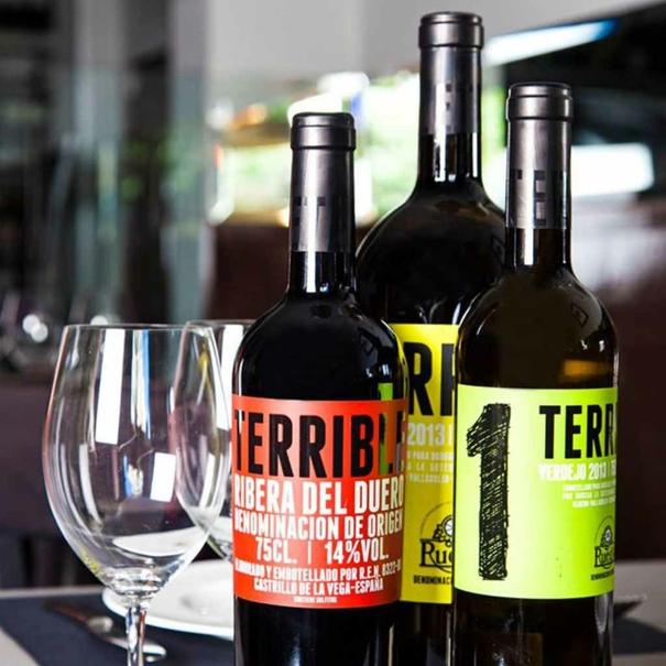 Gama de vinos Terribles