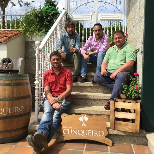 Iván, César, Severino y Óscar Fernández