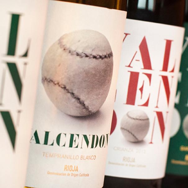 Gama de vinos Valcendón