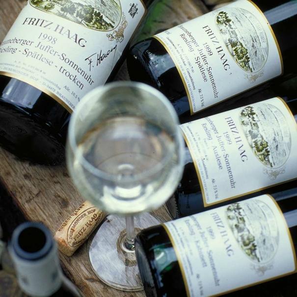 Muestras de los vinos de la bodega