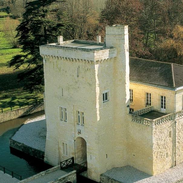 Vista del Château La Tour Carnet