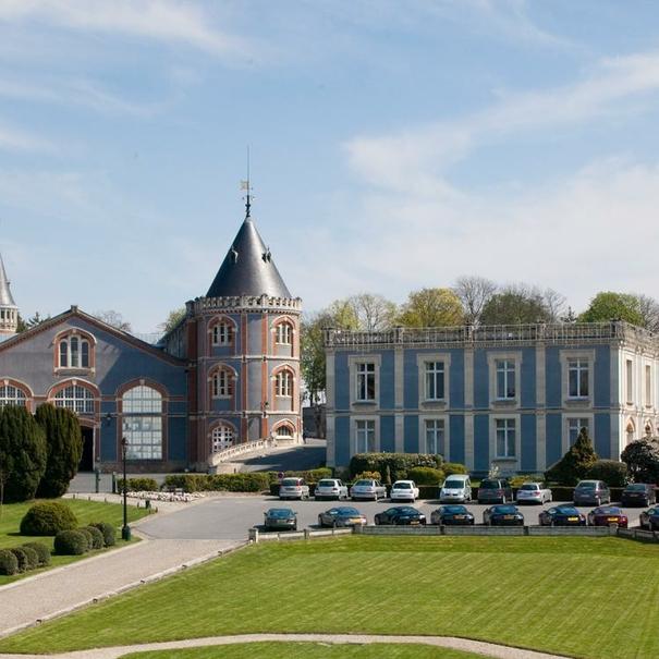 Maison Pommery cuenta con unas instalaciones de más de 300 ha.