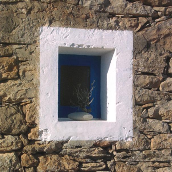 detalle de ventana de bodega