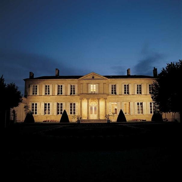 El Château de noche