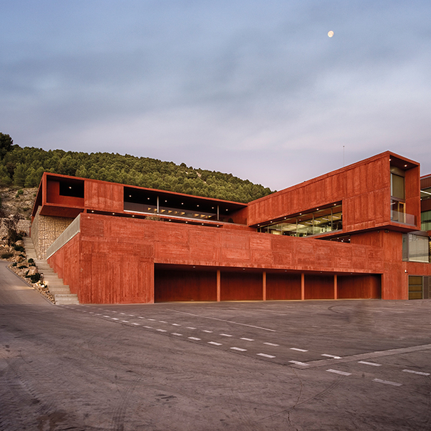 Edificio de Pago de Carraovejas
