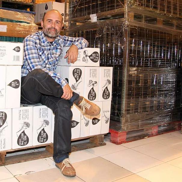Ramón Blanco, CEO de la bodega.